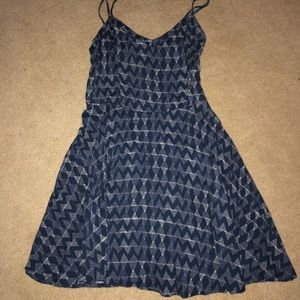 Aeropostale patterned skater dress